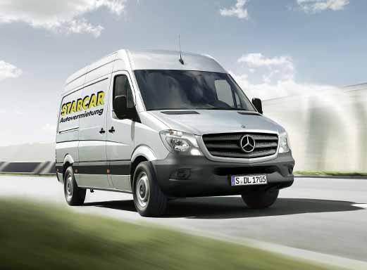 Umzugstransporter - Mercedes-Benz Sprinter