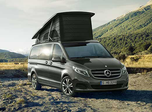 mb marco polo mieten camper von mercedes benz. Black Bedroom Furniture Sets. Home Design Ideas