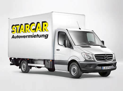 lkw und transporter mieten in hannover starcar. Black Bedroom Furniture Sets. Home Design Ideas